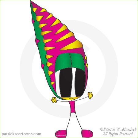 Kiera cartoon character.
